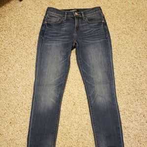 Express medium wash jeans